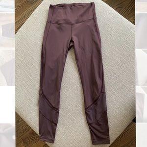 Maroon Size 4 Lululemon leggings